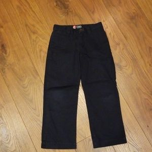 Chaps Navy Chino Pants Size 4T